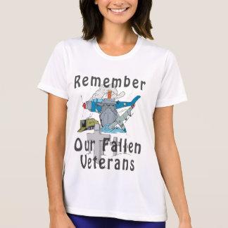 Rappelez-vous le jour de vétéran t-shirt