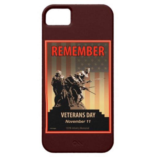 Rappelez-vous le jour de vétérans coque iPhone 5 Case-Mate