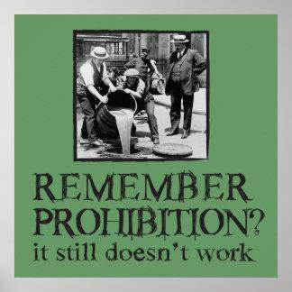 Rappelez-vous l'interdiction ? affiche