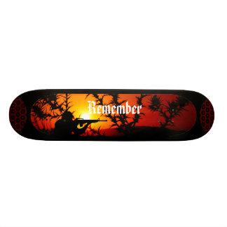 Rappelez-vous Mini Skateboard 18,4 Cm