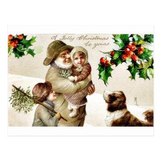 Rappelez-vous Noël Carte Postale