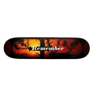 Rappelez-vous Skateboard 19,7 Cm