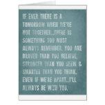 Rappelez-vous toujours la citation d'aa Milne Carte De Vœux