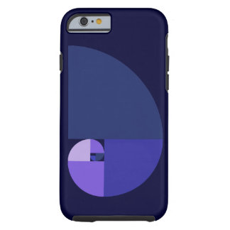 Rapport d'or, spirale de Fibonacci Coque iPhone 6 Tough