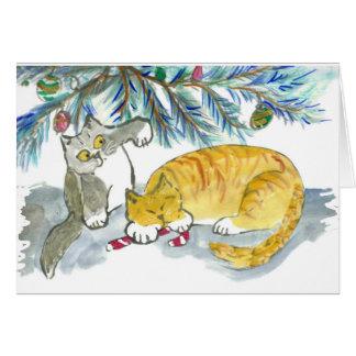 Rapporter le sucre de canne par Kitty Carte De Vœux