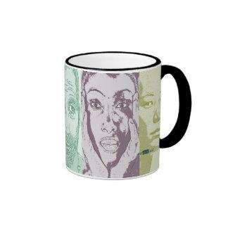 Rapprochement of cultures. mug ringer