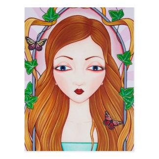 Rapunzel Carte Postale