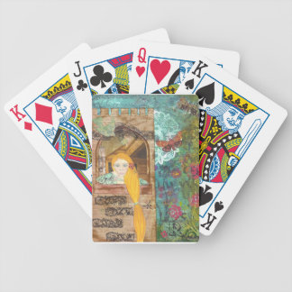 Rapunzel, rêvant cartes à jouer