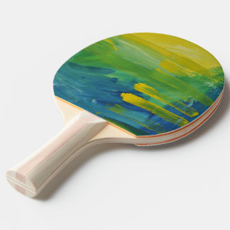 Raquette De Ping Pong Accent lumineux. Palette de ping-pong