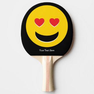 Raquette De Ping Pong Amour d'Emoji