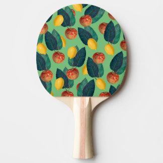 Raquette De Ping Pong aples et vert de citrons