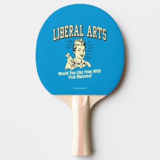 Raquette De Ping Pong Arts libéraux : Fritures de goût avec le diplôme
