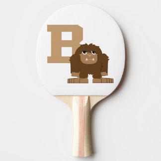 Raquette De Ping Pong B est pour Bigfoot