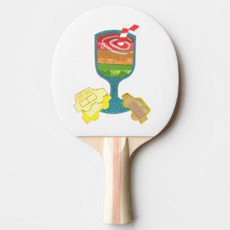 Raquette De Ping Pong Batte de ping-pong de milkshake de feu de