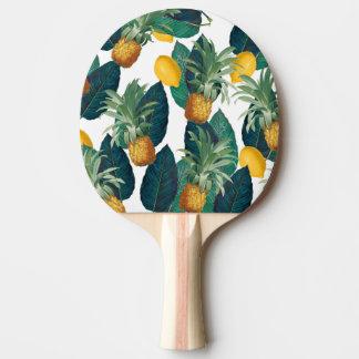 Raquette De Ping Pong blanc de pineaple et de citron