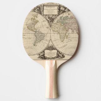 Raquette De Ping Pong Carte 9 du monde