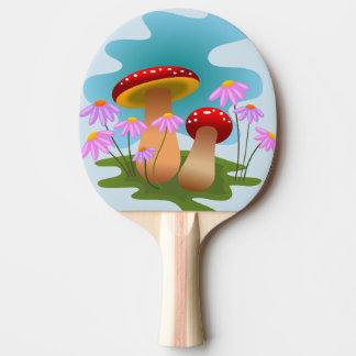 Raquette De Ping Pong champignon