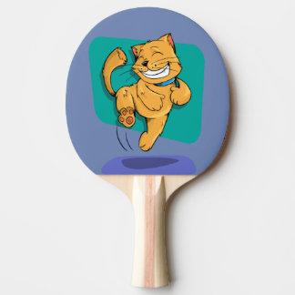 Raquette De Ping Pong chat heureux