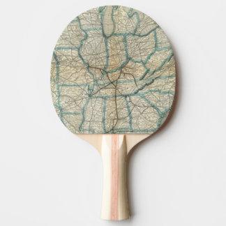 Raquette De Ping Pong Chemin de fer 2 de Louisville et de Nashville