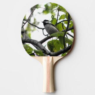 Raquette De Ping Pong Chickadee couvert par noir