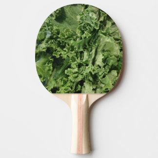 Raquette De Ping Pong Chou frisé végétalien vert clair de hanche