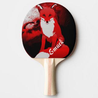 Raquette De Ping Pong Conception de Fox rouge personnalisée