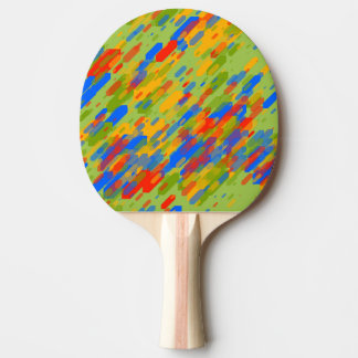 Raquette De Ping Pong conception de regard fraîche géométrique abstraite