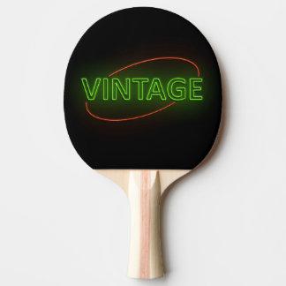 Raquette De Ping Pong Cru au néon