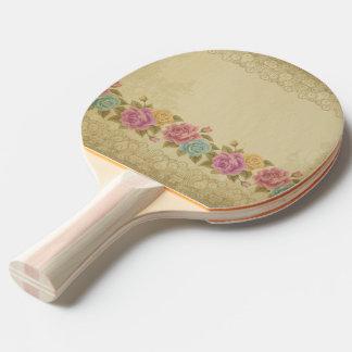 Raquette De Ping Pong cru, nouveau d'art, beige, gris, art déco,