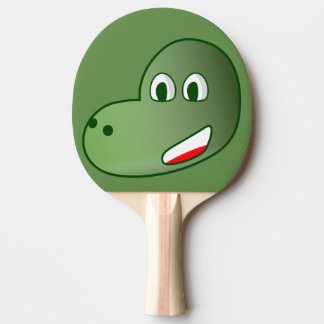 Raquette De Ping Pong dinosaure
