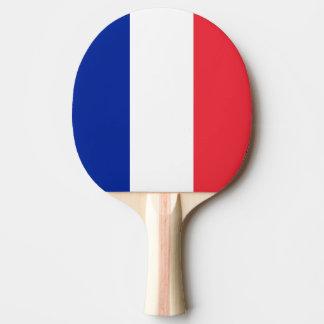 Raquette De Ping Pong Drapeau de la France