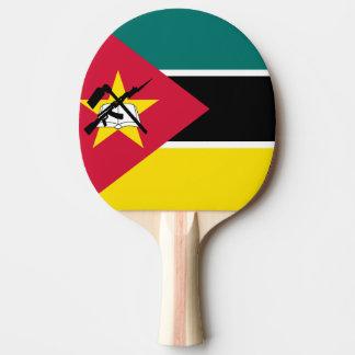 Raquette De Ping Pong Drapeau de la Mozambique