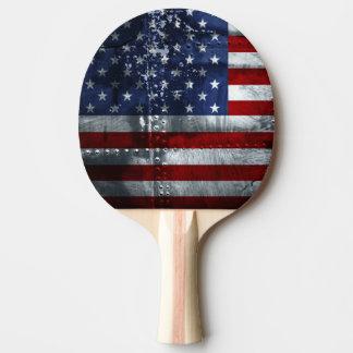 Raquette De Ping Pong Drapeau de la palette de ping-pong des Etats-Unis