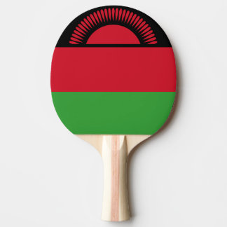 Raquette De Ping Pong Drapeau du Malawi