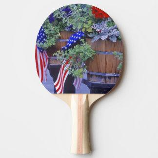 Raquette De Ping Pong Drapeaux et fleurs dans Philipsburg Montana