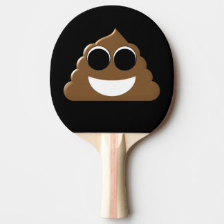 Raquette De Ping Pong Dunette drôle Emoji