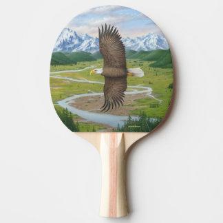Raquette De Ping Pong Eagle chauve