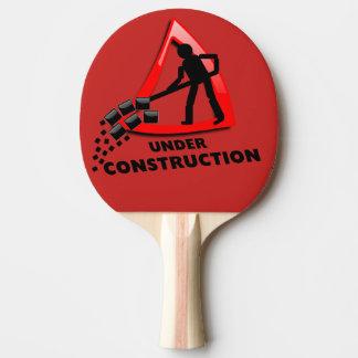 Raquette De Ping Pong en construction