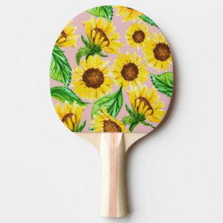 Raquette De Ping Pong Ensoleillé
