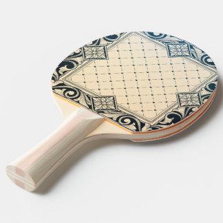 Raquette De Ping Pong époque de belle, nouveau d'art, victorian, floral,