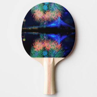 Raquette De Ping Pong Feux d'artifice