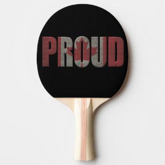 Raquette De Ping Pong Fier canadien