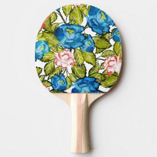 Raquette De Ping Pong Fleur d'indigo