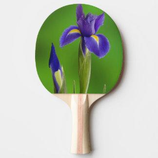 Raquette De Ping Pong Fleurs d'iris