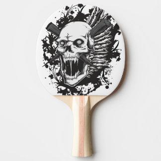 Raquette De Ping Pong graffiti principal de chasseur de crâne