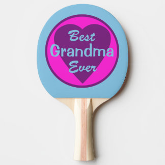 Raquette De Ping Pong La meilleure grand-maman jamais