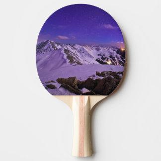 Raquette De Ping Pong La vue céleste du cupidon