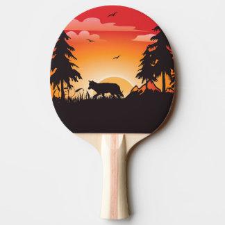 Raquette De Ping Pong Le loup