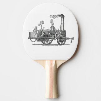Raquette De Ping Pong Locomotive tôt de train de vapeur