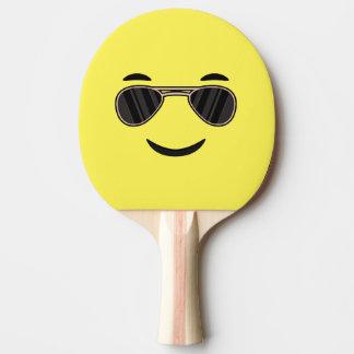 Raquette De Ping Pong Lunettes de soleil Emoji